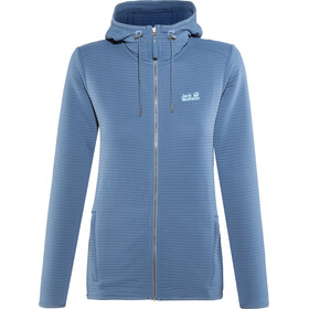 Jack Wolfskin Modesto Hooded Jacket Women ocean wave